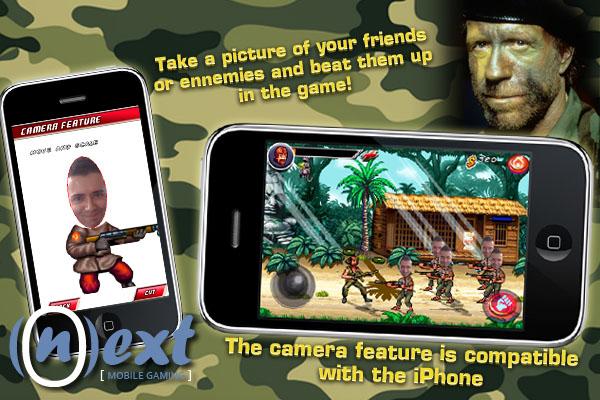 ChuckNorrisScreen1 Fim do iPhone!!! Chuck Norris na App Store em Breve!