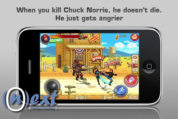 ChuckNorrisScreen2 Fim do iPhone!!! Chuck Norris na App Store em Breve!