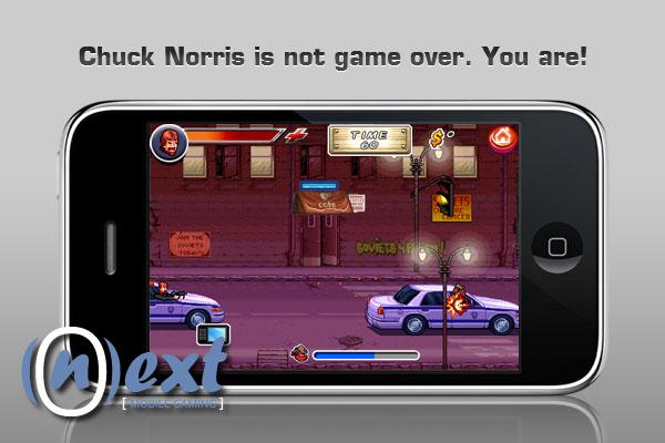 ChuckNorrisScreen4 Fim do iPhone!!! Chuck Norris na App Store em Breve!