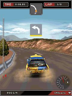 Colin McRae Dirt Glu Mobile 3D-2