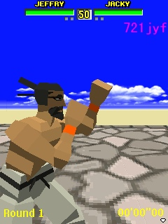 VFM3D_03_by_721jyf Old Review - Virtua Fighter Mobile (J2ME)